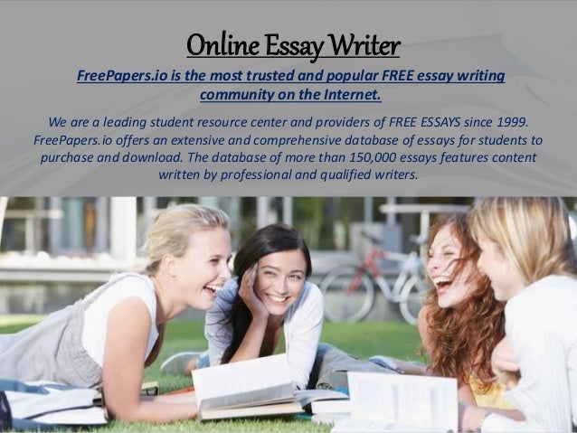 online essay writer for $ 10 In order to get the desired grade, students always search for some companies to buy essay online if you want to find a talented professional essay writer.
