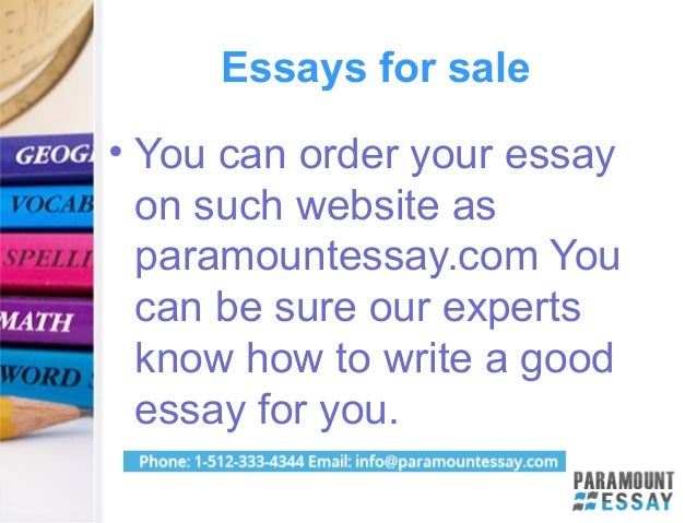 paramount essay writing