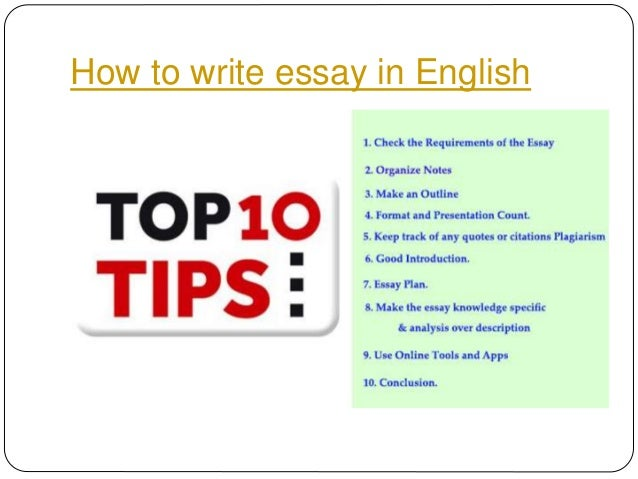 Online essay writing