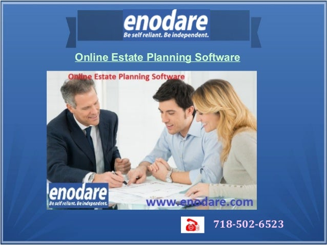 Online estate planning software for Online planning software