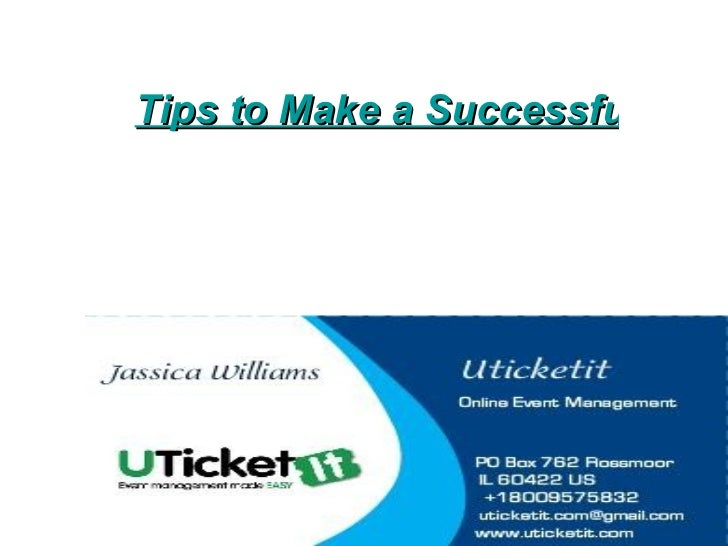 Online event management uticketit