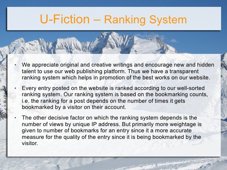Fiction writing online