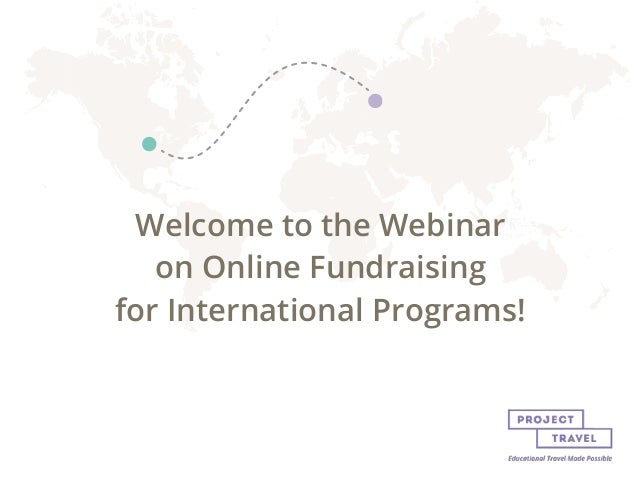 Online fundraising for int'l programs (wiva)