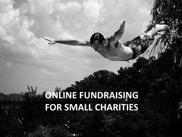 Online Fundraising For Small Charities