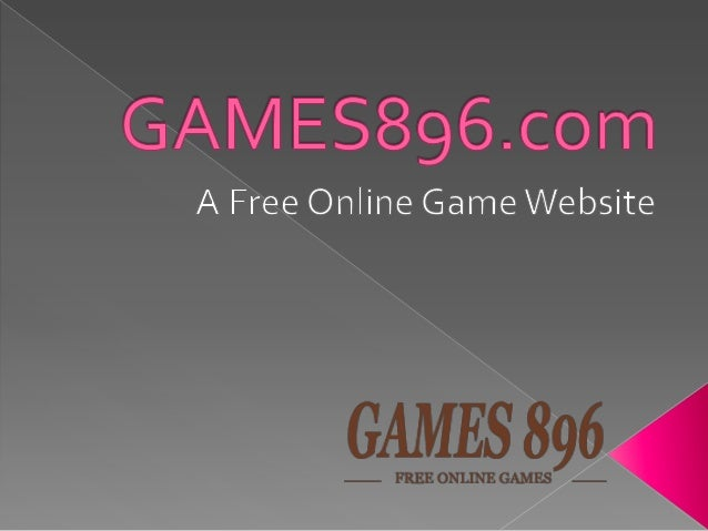 Play Free Online games at games896