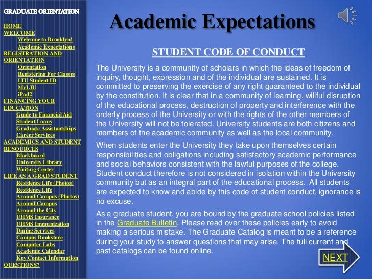 the student code of conduct of Reference university rule 3361:40-5-05, located in the langsam library, board of trustees office, office of the vice president for student affairs, and college offices if your incident took place prior to july 18, 2017, please refer to the 2016-2017 version of the student code of conduct for.