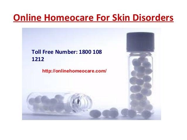Online homeopathy skin treatment
