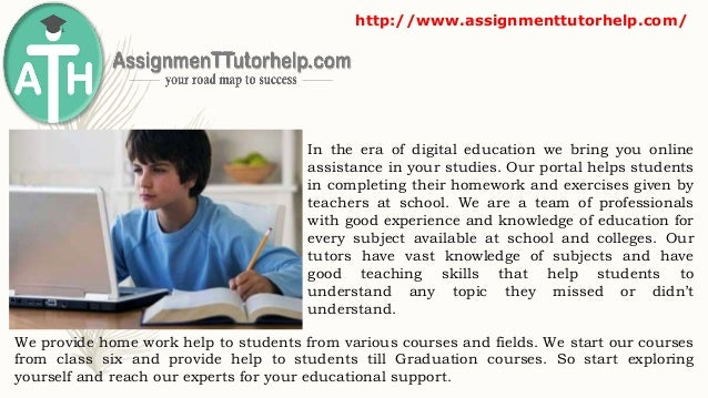 Homework Help: Ask Questions and Get Answers Online