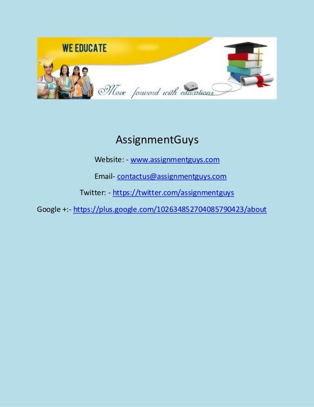 Online homework help services