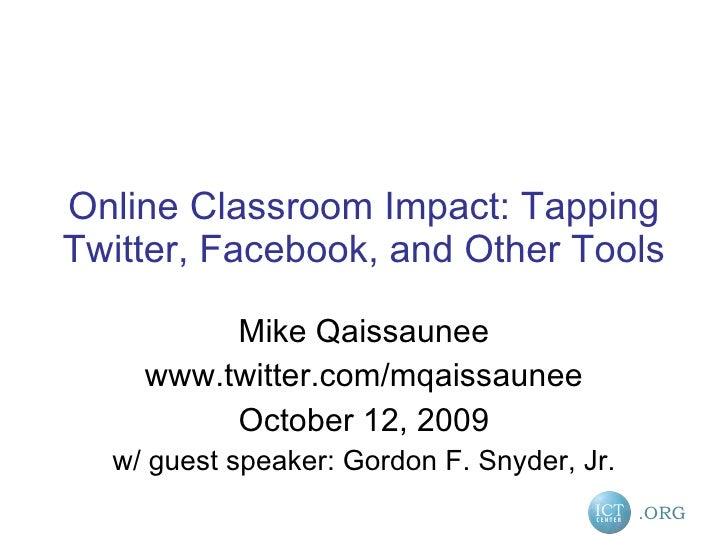 Online Impact Oct 12 2009