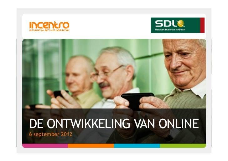 Online in de toekomst; wat kan ik nú doen?