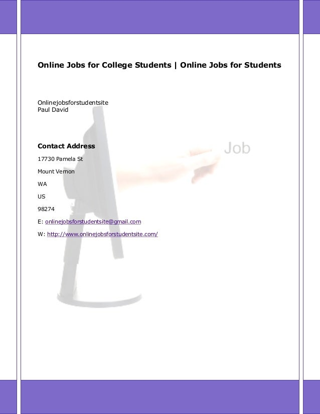freelance online jobs for students 13 online jobs for college