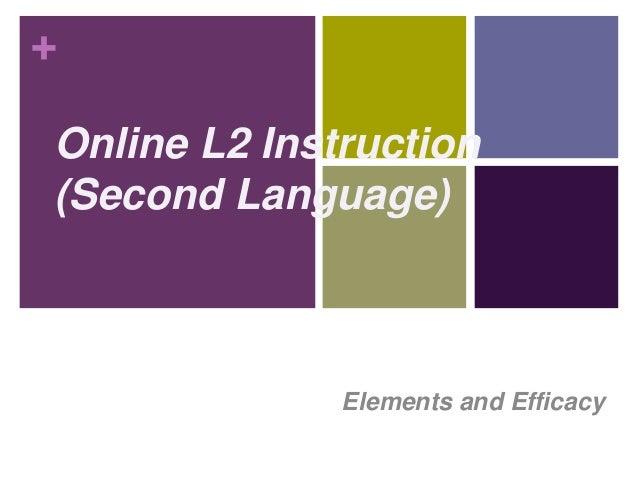 Online L2 Instruction