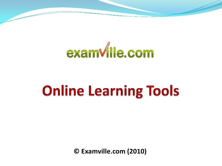 Online Learning Tools and e-Learning