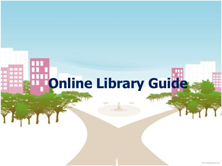 Online library guide