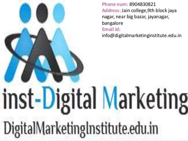certified mobile marketing course in bangalore