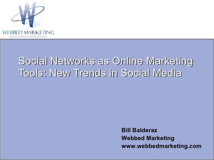 Online Marketing   New Trends In Social Media (Tin180 Com)