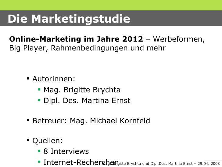 Online-Marketing 2012