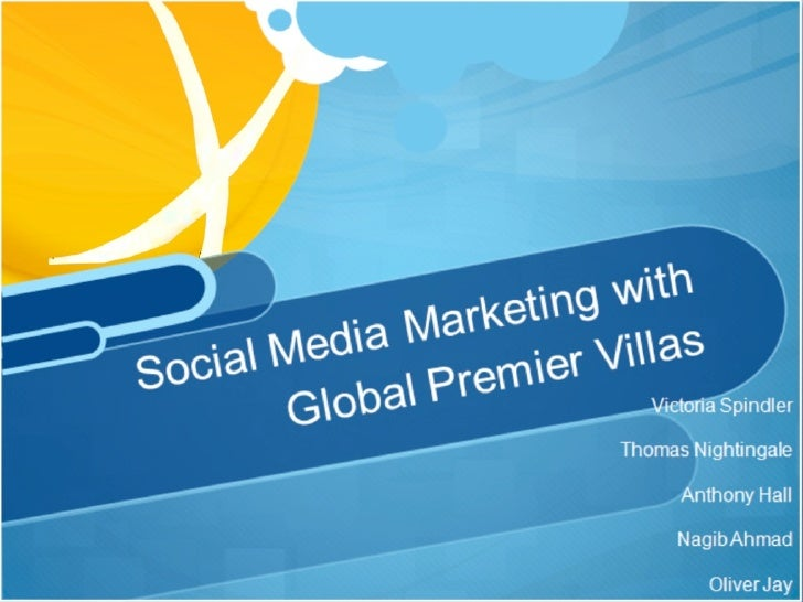 Online Marketing at Global Premier Villas