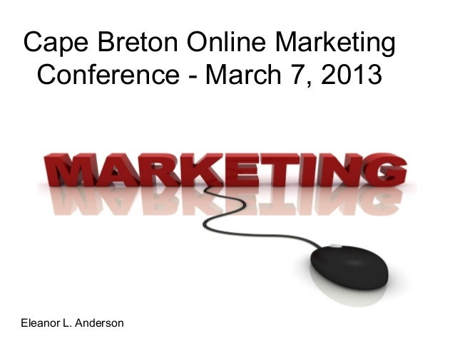 Online marketing conference 2013(eleanor a)