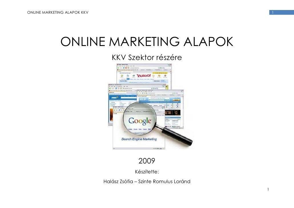 Online Marketing E Book