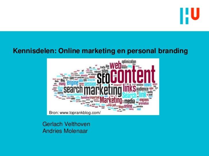Online marketing en personal branding