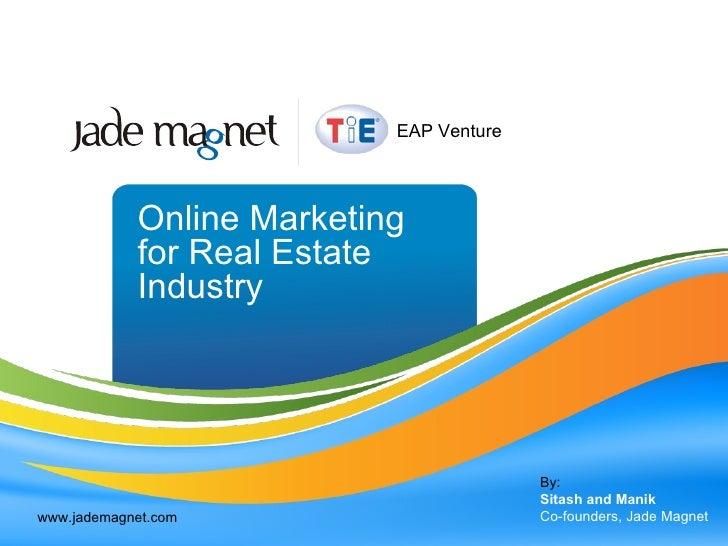 Online marketing for real estate industry