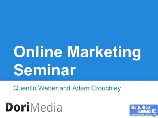 Online Marketing 2013