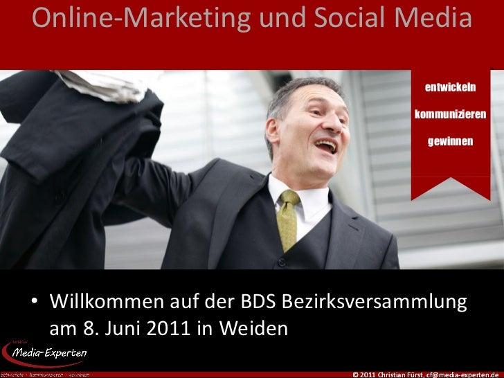 Online-Marketing und Social Media                                                    entwickeln                           ...