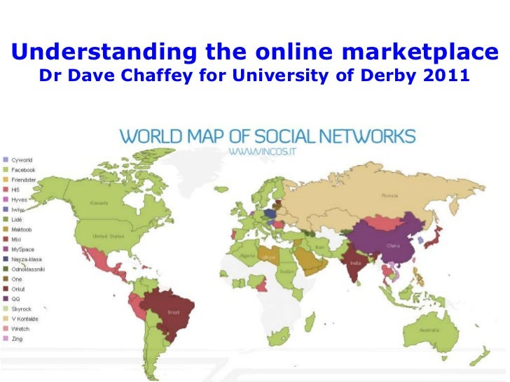 Understanding the online marketplace  Dr Dave Chaffey for University of Derby 2011