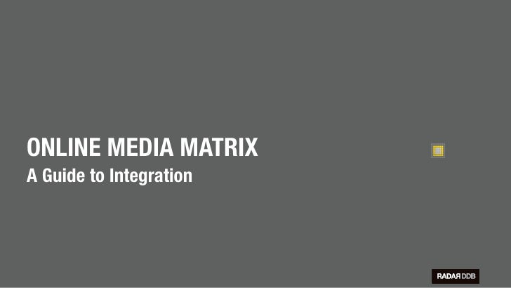 Online Media Matrix