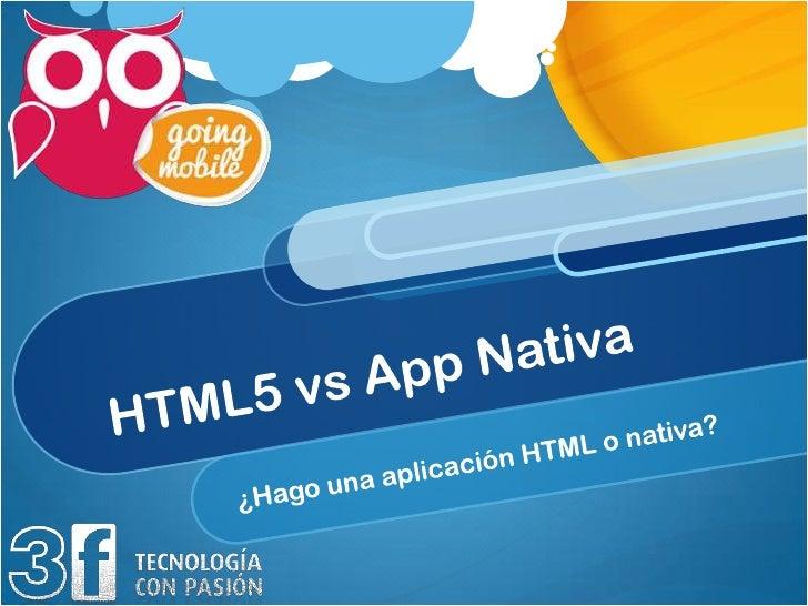 HTML 5La visión desde su perspectiva
