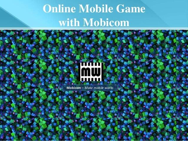 Online Mobile Game with Mobicom_viet ver.