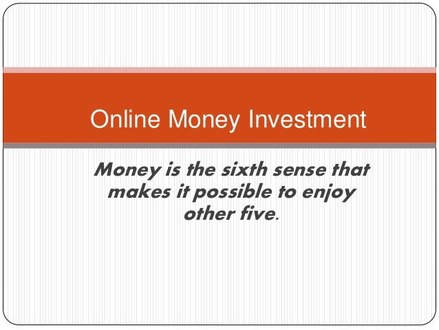 Online money investment,can i make money online without being scammed ...