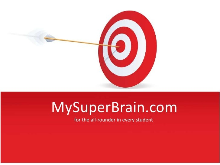 MySuperBrain.com  for the all-rounder in every student