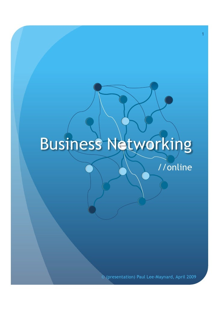 Business Networking//Online
