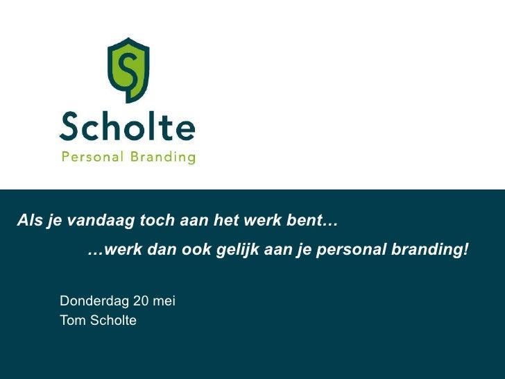 Online personal branding gemeente ambtenaren