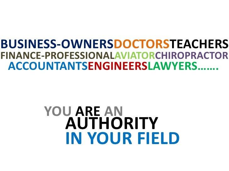 BUSINESS-OWNERSDOCTORSTEACHERS<br />FINANCE-PROFESSIONALAVIATORCHIROPRACTOR<br />ACCOUNTANTSENGINEERSLAWYERS…….<br />YOU A...