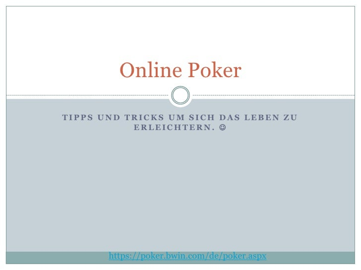 Poker - Einfach klasse!
