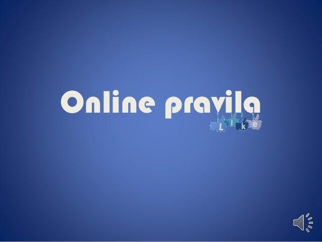 Online pravila
