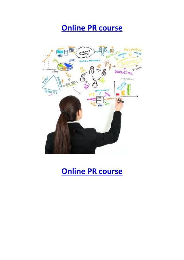 Choosing the right online PR course