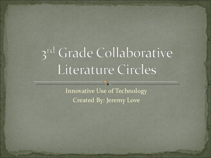 Online presentation - Literature Circles