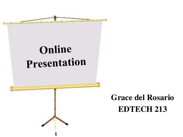Grace del Rosario EDTECH 213
