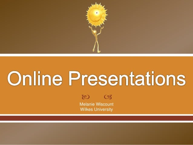 Online Non-Linear Presentations