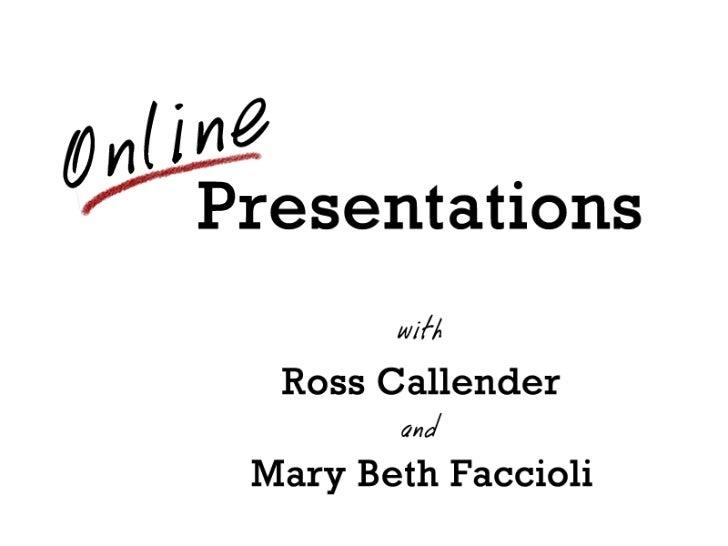 Online Presentations