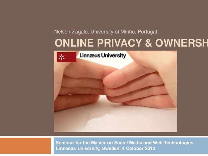 Online Privacy & Ownership