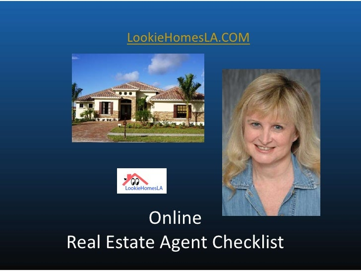 online real estate agent