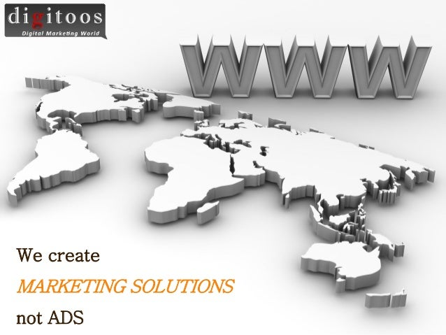 We create TemplatesMARKETING SOLUTIONSnot ADS