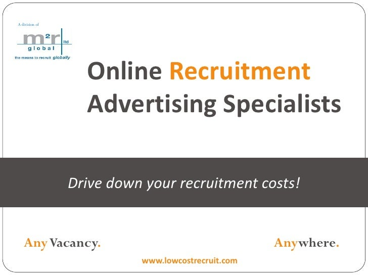 Online recruitment advertising solutions from m2r global