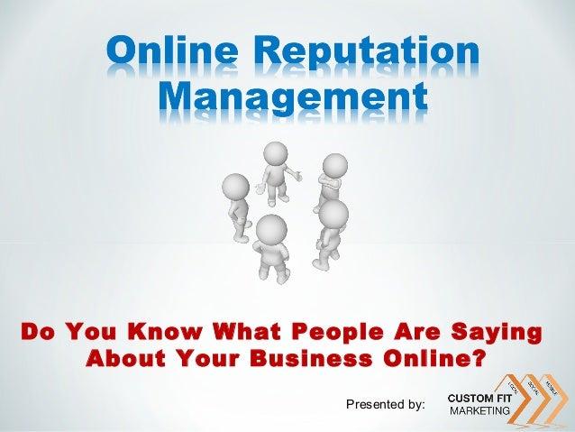 Online Reputation Management San Diego